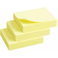 Блок бумаги с липким слоем 40х50, желтый 2311-01-A