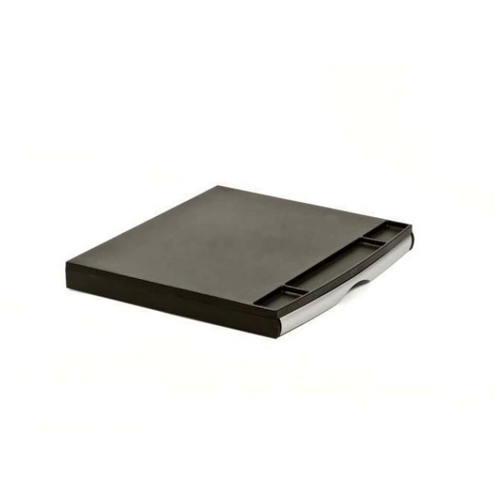 Подставка под монитор настольная, малая  Black&Silver