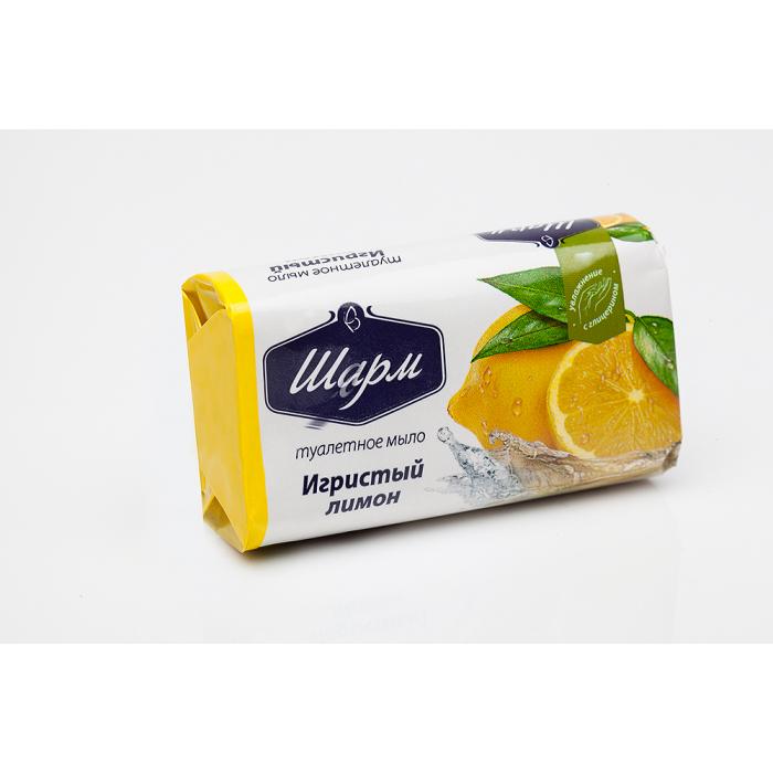 Мило ШАРМ Ігристий лимон 70г.
