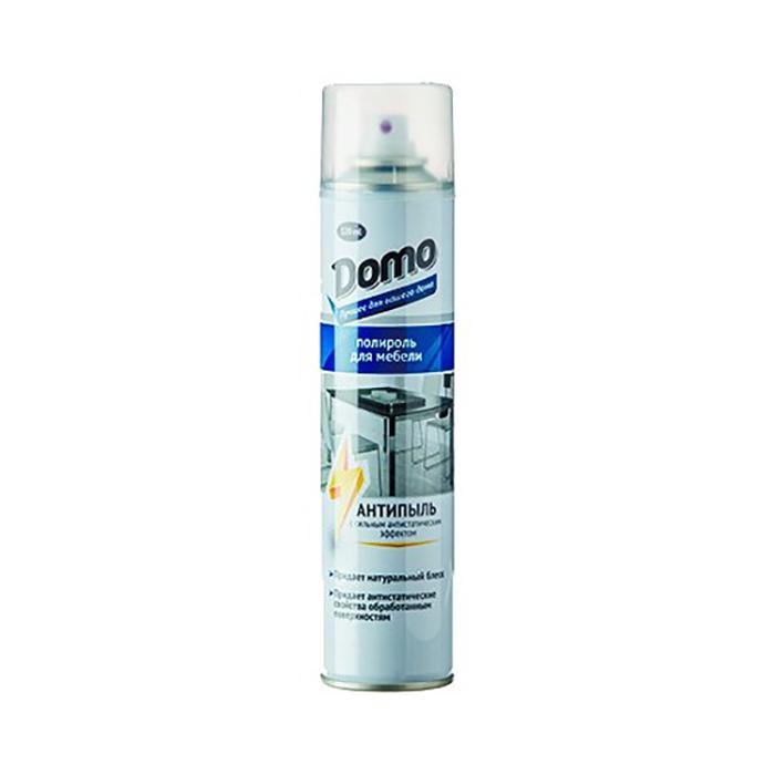 DOMO поліроль для меблів, аерозоль (Антипил) 320мл.