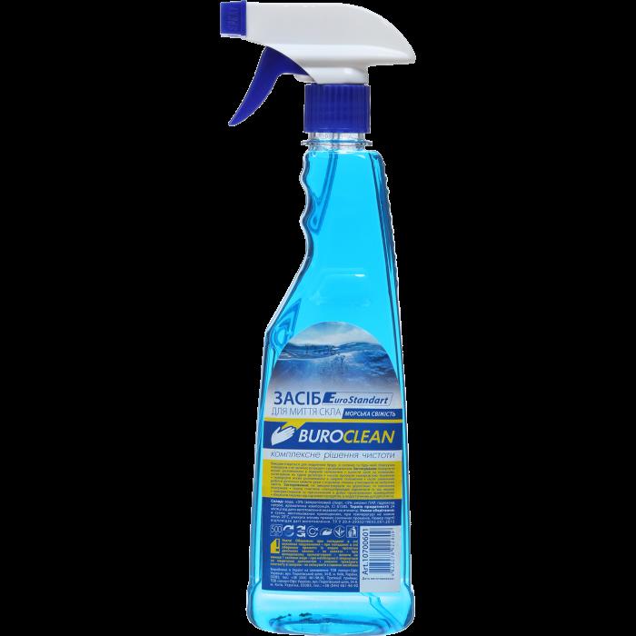 BUROCLEAN для мытья стекол 500мл. (морская свежесть) 10700601