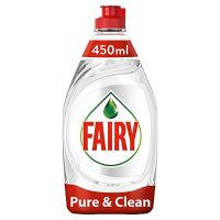 FAIRY средство для мытья посуды 450мл Pure & Clean