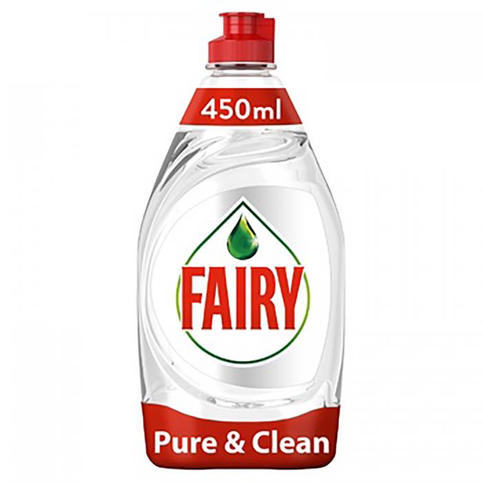 FAIRY засіб для миття посуду 450мл Pure & Clean