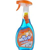 Mr.Muscle средство для стекла (синий) 500мл.