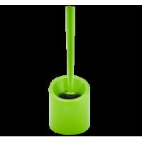 Щітка для унітазу з підставкою Аква (салатовий)