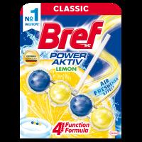 BREF блоки для унитаза 4 в 1 Лимонная свежесть