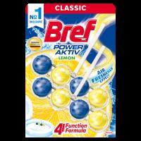 BREF туалетный блок Сила Актив Лимон Дуопак