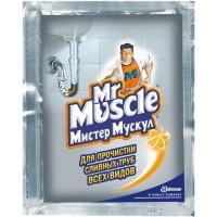 Mr.Muscle гранулы для чистки труб 75г.