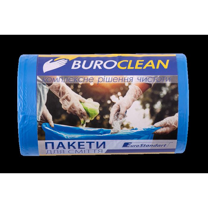 Пакети для сміття EuroStandart  міцні 50х60см. 35л. 100шт.