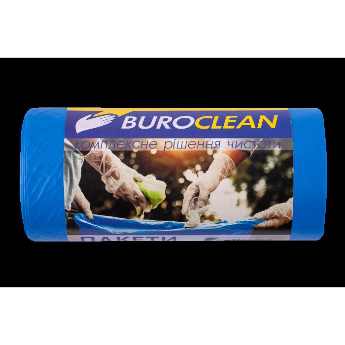 Пакети для сміття EuroStandart міцні 60х80см, 60л. 20шт.