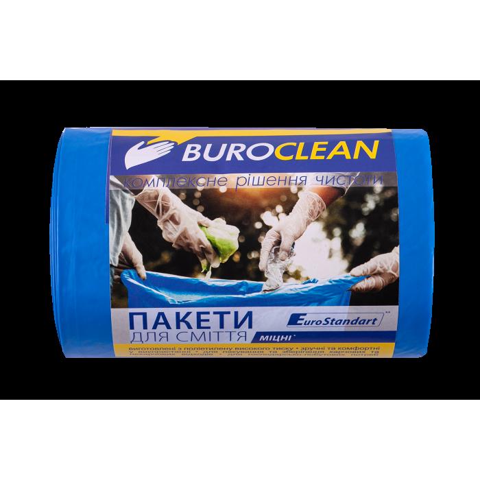 Пакети для сміття EuroStandart міцні 60х80см, 60л. 40шт.