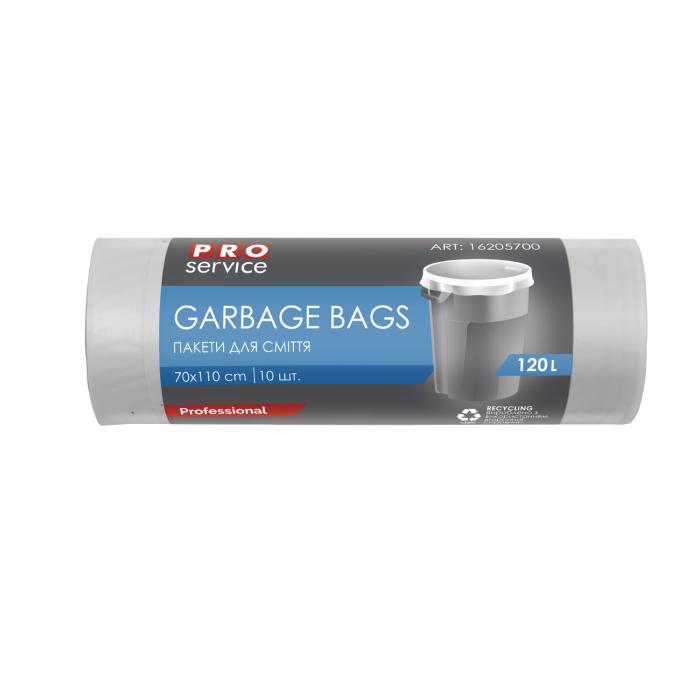 Пакеты для мусора 70х110см 120л. 10шт