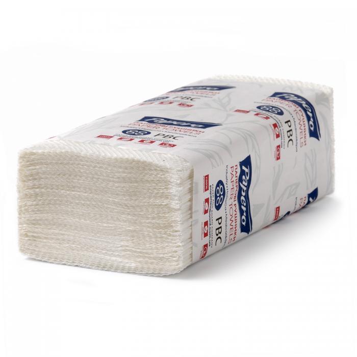 Полотенца бумажные Papero V-складка 150л/уп