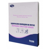 Накладки санітарні на унітаз (200шт) МІНІ (TC 200)