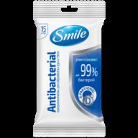 Салфетка влажная Antibacterial с Д-пантенолом 15шт. (52 шт/ящ)