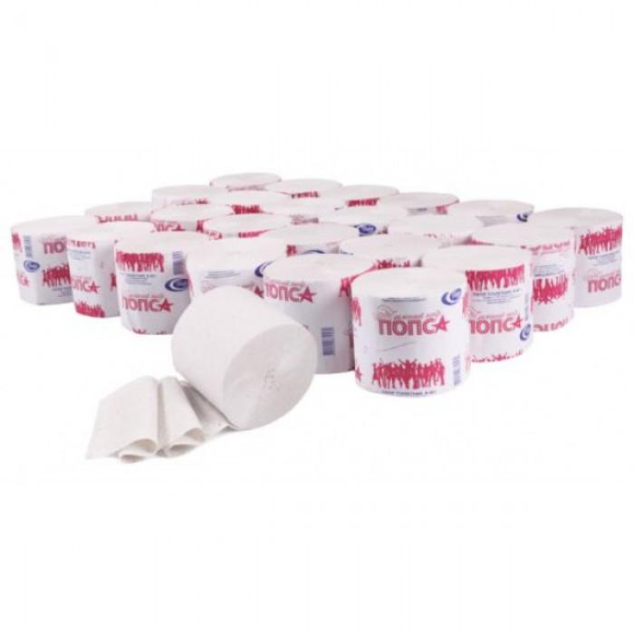 Туалетний папір в рулоні POPSA (24 рулона)