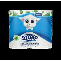 Туалетная бумага Диво Aroma (с ароматом алое вера) 4шт/уп