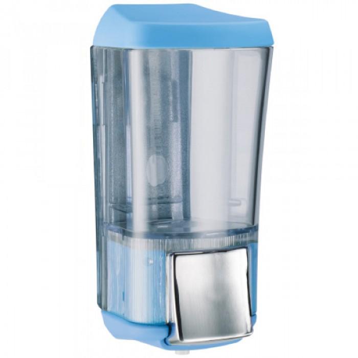Дозатор для жидкого мыла KALLA (голубой) 0,17л.
