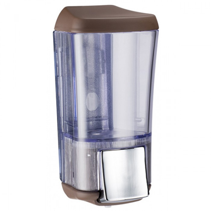 Дозатор для жидкого мыла KALLA (коричневый) 0,17л.