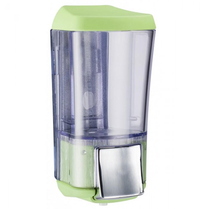 Дозатор для жидкого мыла KALLA (салатовый) 0,17л.