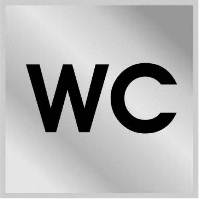 Табличка ТУАЛЕТ WC 3001