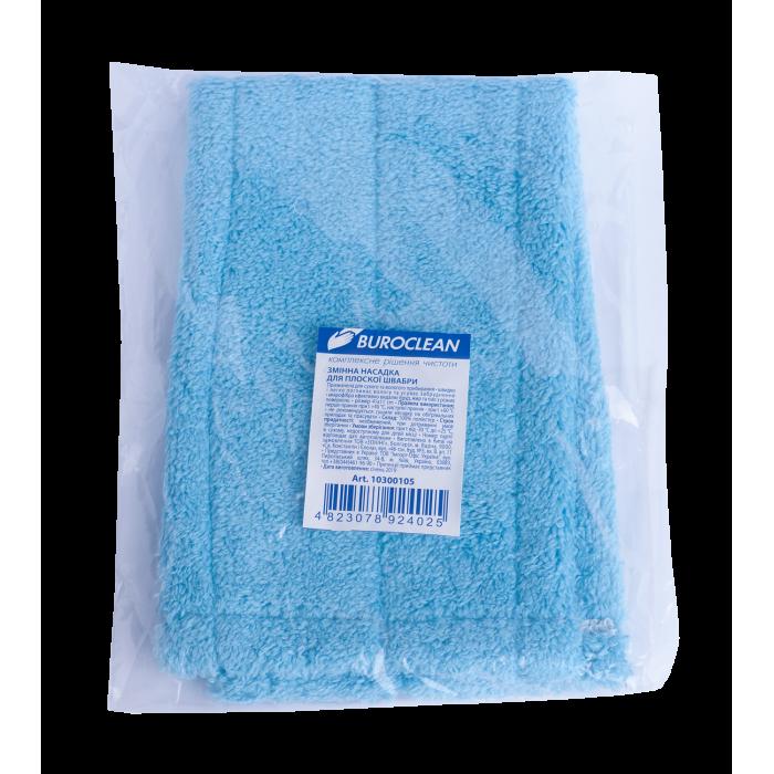 Запаска для пласкої швабри (43см) Buroclean, колір асорті (10300105)