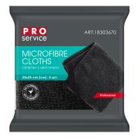 Салфетки из микрофибры универсальные (черный) PRO SERVICE BAR AREA 5шт/уп