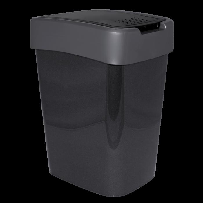 Відро для сміття Євро 25л. (граніт/сіре)