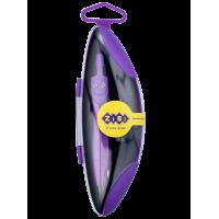 Циркуль Neon Start в твердом футляре с запасным грифелем (фиолетовый ) ZB.5323NS-07