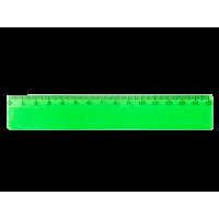 Линейка пластиковая 15см. зеленая
