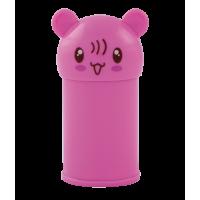 Чинка з контейнером ANIMAL, 2 отвори (асорті)