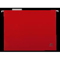 Файл підвісний пластиковий А4 (червоний) bm.3360-05