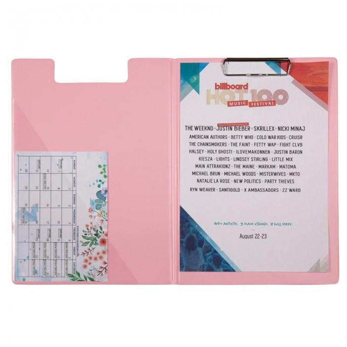Папка-планшет А4 Pastelini (розовый) 2514-10-A