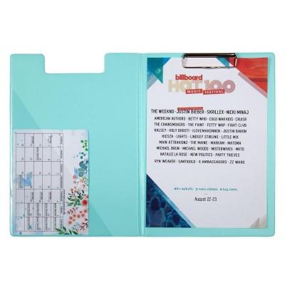 Папка-планшет А4 Pastelini (мятный) 2514-18-A