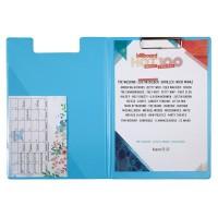 Папка-планшет А4 Pastelini (блакитний) 2514-22-A
