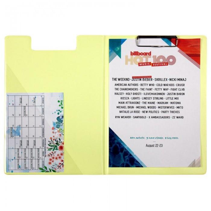Папка-планшет А4 Pastelini (желтый) 2514-26-A