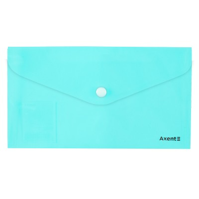 Папка-конверт на кнопці DL Pastelini (неом'ята) 1414-09-A