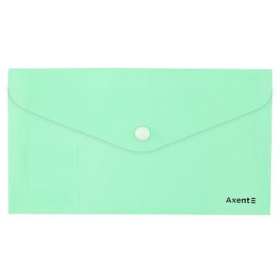 Папка-конверт на кнопке DL Pastelini (мятный) 1414-18-A