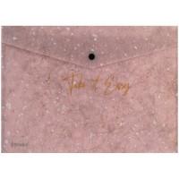 Папка-конверт на кнопці А5+ Shade Violet 1496-16-a