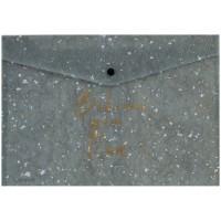 Папка-конверт на кнопці А5+ Shade Green 1496-15-a