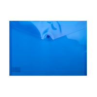 Папка-конверт на кнопці А4 (синя) bm.3926-02