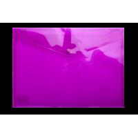 Папка-конверт на кнопці А4 (фіолетова) bm.3926-07