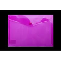Папка-конверт на кнопке А5 (фиолетовая) bm.3936-07