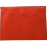 Папка-конверт на кнопці А4 (червона) bm.3925-05