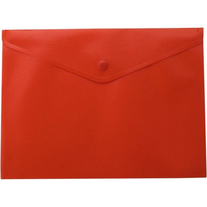 Папка-конверт на кнопке А4 (красная) bm.3925-05