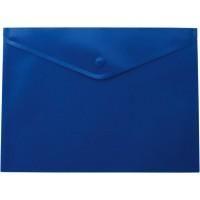 Папка-конверт на кнопці А4 (синя) bm.3925-02
