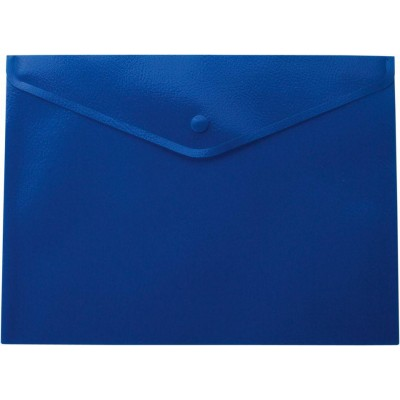 Папка-конверт на кнопке А4 (синяя) bm.3925-02