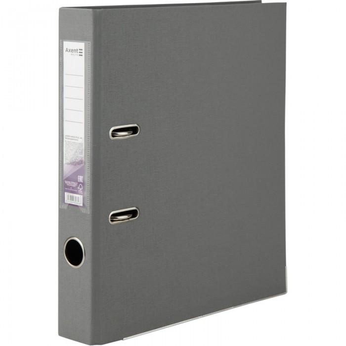 Регистратор с двухсторонним покрытием А4, (5см) серый D1711-03C