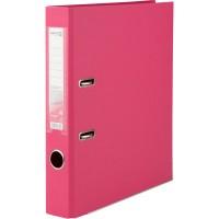 Реєстратор з двостороннім покриттям А4, (5 см) рожевий D1711-05C