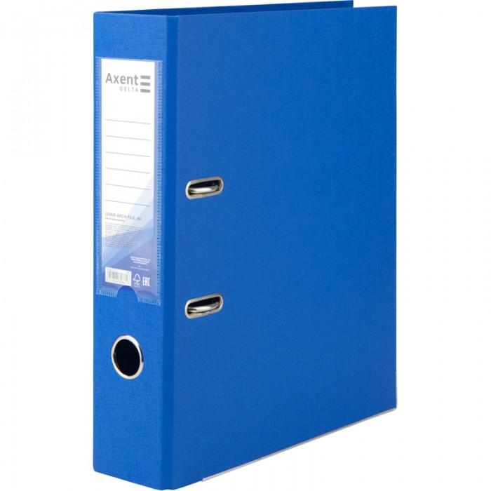 Регистратор с односторонним покрытием А4, (7,5см.) голубой D1714-07C